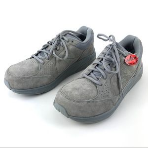 New Balance 928 Rollbar Shoes Gray Suede US 9.5